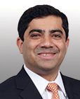 headshot of Niladri Mukherjee, Head of Portfolio Strategy, Chief Investment Office, Merrill and Bank of America Private Bank.