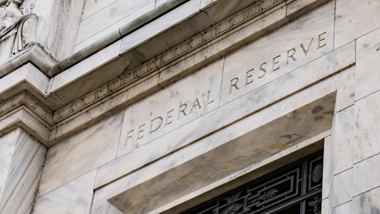 Picture of the federal reserve building