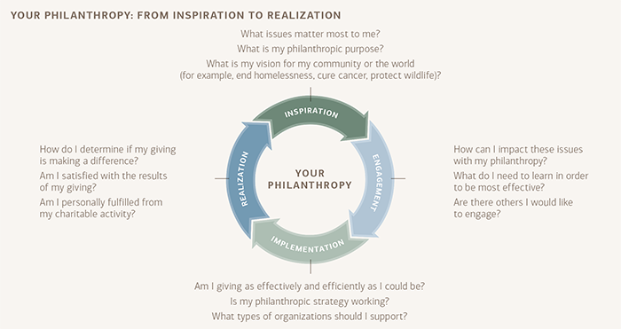 pursuing your philanthropic vision graphical representation