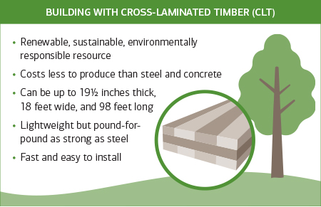 Building with cross-laminated timber (CLT)