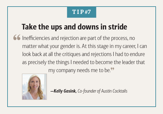 Kelly Gasink, Co-founder of Austin Cocktails, on taking the ups and downs in stride